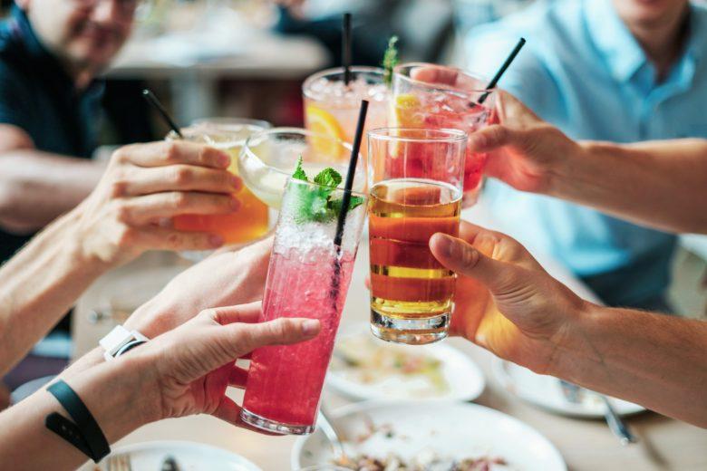 チューハイで乾杯
