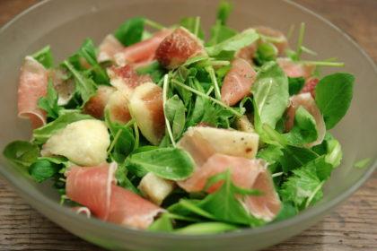いちじくと生ハムのサラダ