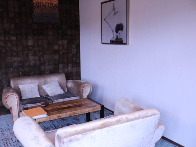 ネスタリゾート神戸 ソファースペース