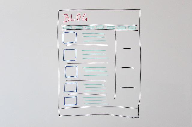 ブログの見た目を考える