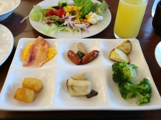 ネスタリゾート朝食