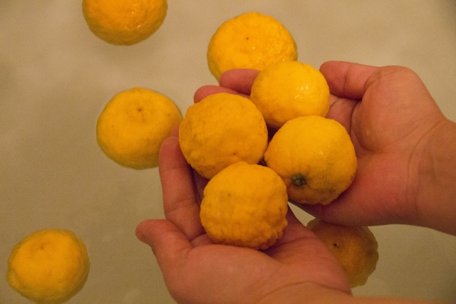 冬至の柚子湯について
