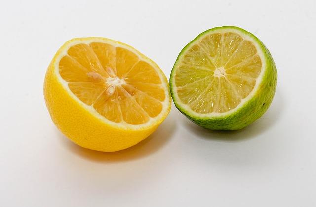 レモンとライムの酸味の違い
