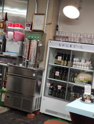 夷川餃子なかじまドリンクコーナー
