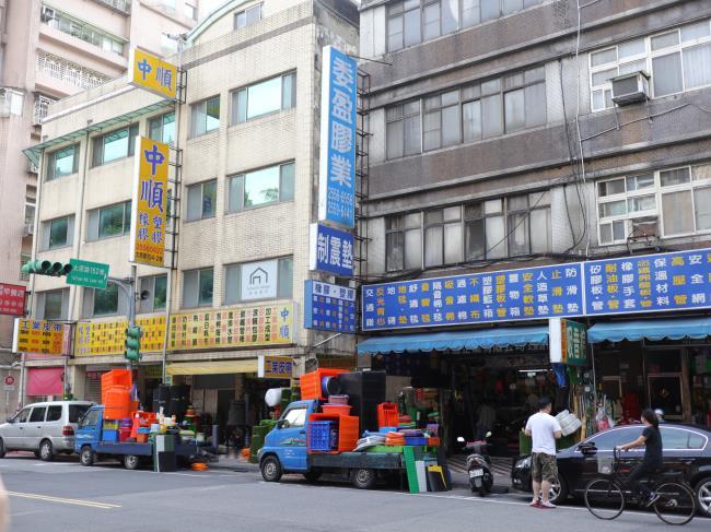 台湾町並み