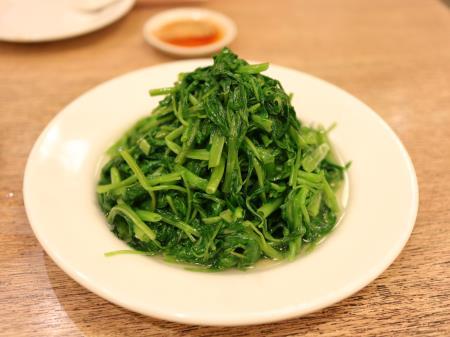 鼎泰豊空心菜(青菜炒め)
