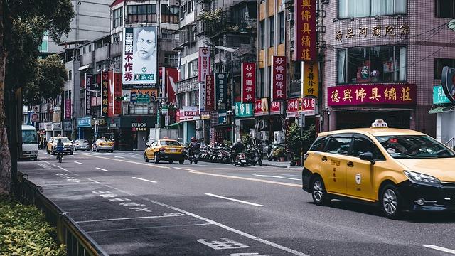 台湾ではタクシーがお得
