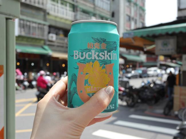 迪化街と台湾ビールbuckskin