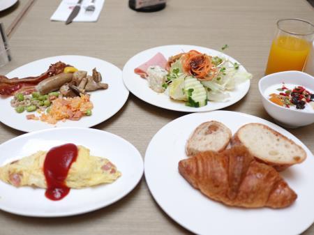 朝食ビュッフェ2日目サンワールドダイナスティ