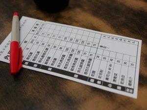 佳興魚丸店注文表