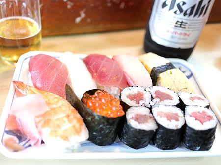 丸八寿司中寿司ランチ