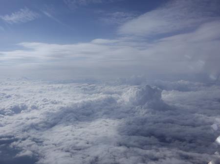 雲ふわふわ