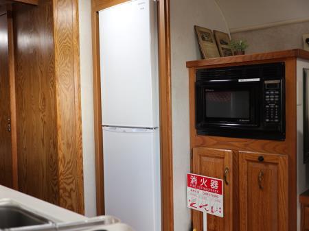 パームガーデン舞洲エアストリーム冷蔵庫