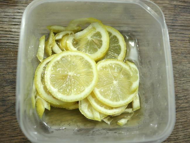濃厚はちみつレモンの作り方
