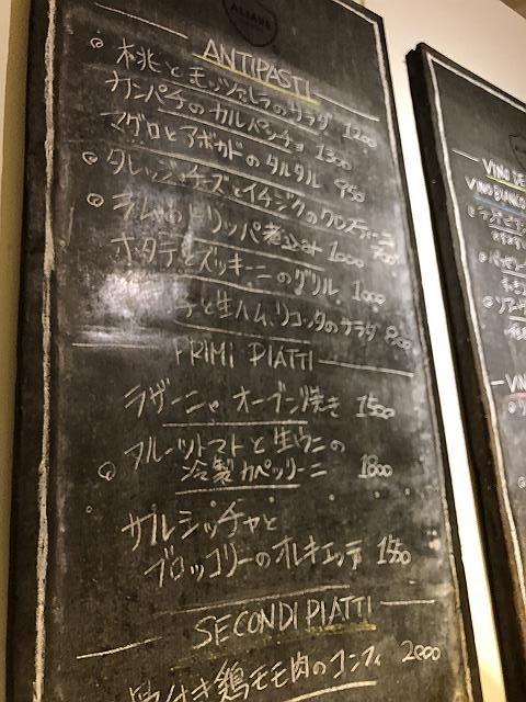 ALIARE黒板