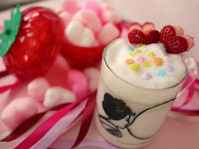 バレンタインいちごホットチョコレートチューハイ2