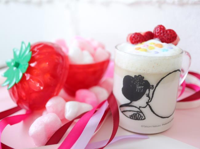 バレンタインいちごホットチョコレートチューハイ
